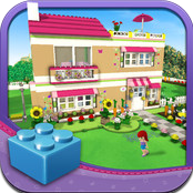 Lego Friends Dress Up Game Icon