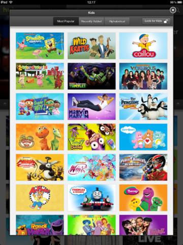 Hulu Plus Releases Kids Lock Feature On Ipad Ipad Kids