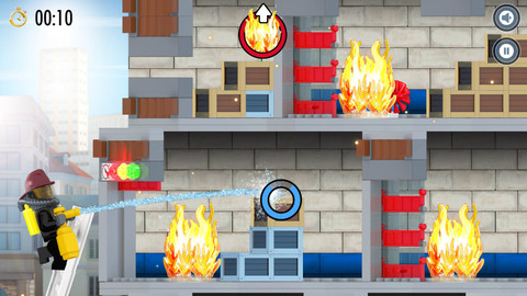 lego city fire hose frenzy 2