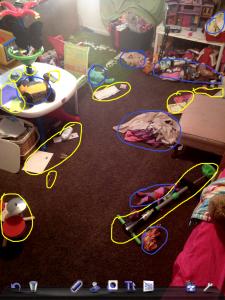 blog messy circles