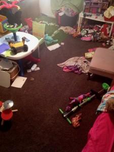 blog messy room