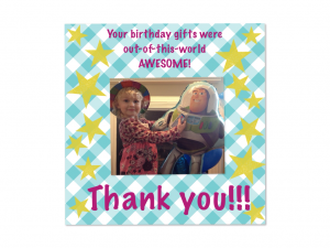 blog thank you card