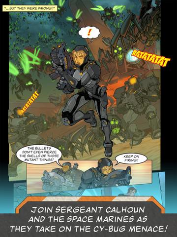 wreck it ralph hero's duty comic 2