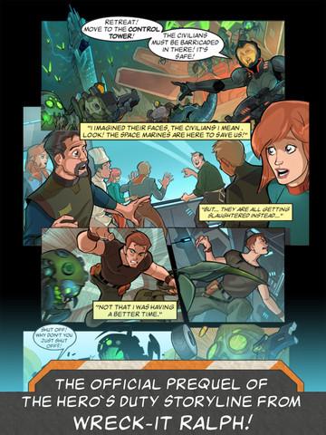 wreck it ralph hero's duty comic 3