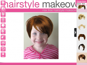 blog hair short