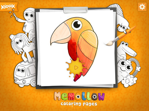 memollow coloring pages 1