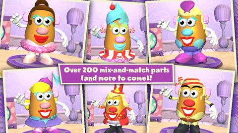 Mr Potato Heads Female Counterpart Hits The App Store