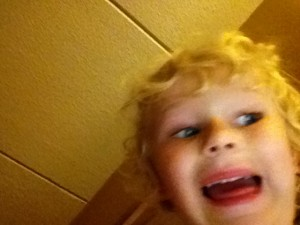 selfie fun face
