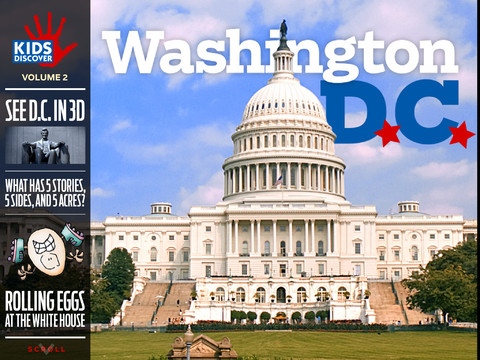 washington d.c. kids discover 1