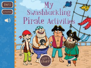 Bloomsbury Pirate Activity