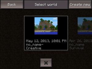 blog minecraft menu