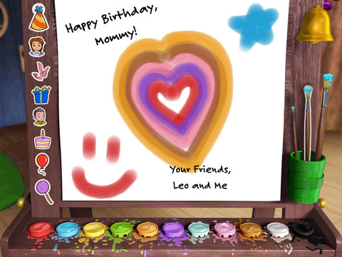 Free App Of The Day Leos Birthday Card Maker iPad Kids – Ipad Birthday Card