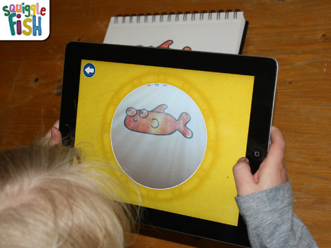 Squigglefish Ipad Camera Technology Brings Artwork To Life Ipad Kids