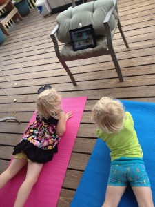 blog deck yoga