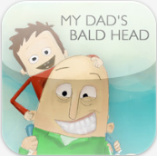 my dad's bald head