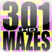 301 atomic mazes HD for the ipad