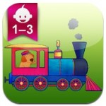 animal train for toddlers featured