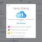 ipad family sharing
